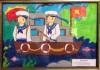 Hình ảnh hội thi vẽ tranh hướng về biển Đông